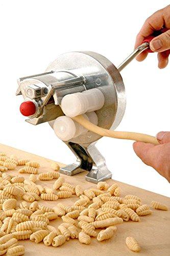 Mamamia, macchina per la pasta originale italiana 'Little Mama' per cavatelli e gnocchetti
