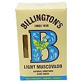 BILLINGTON'S - Azúcar Claro Mascabado - Azúcar para Pasteles, Galletas y Postres - Azúcar de Caña sin Refinar - 500 gr