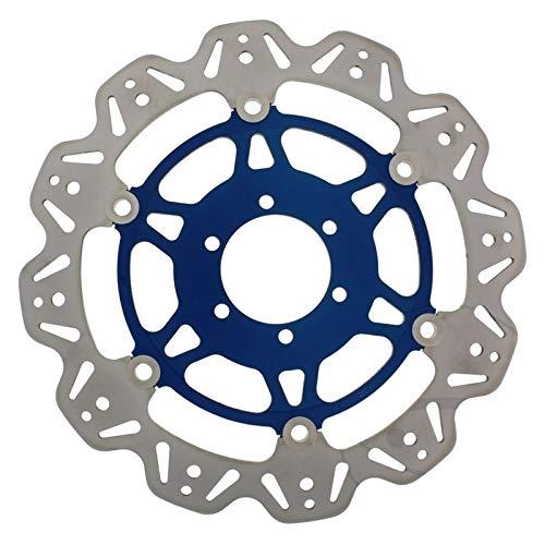 1X Disco freno anteriore Ducati Monster 620I.E. DD Dark 2005EBC VR626Blu