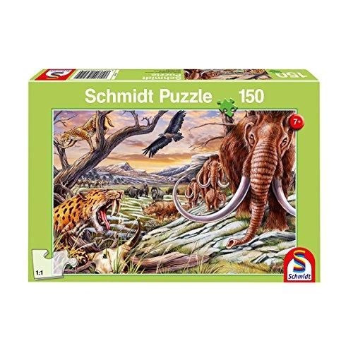 Schmidt Puzzle Animali Dell'Era Glaciale, 150 Pezzi, 56251