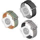 Beetest®   Cinturino Apple Watch,Moda Tessuti di Tessuto di Nylon Sostituzione Orologio per Apple Watch Series 1/2,38/42mm