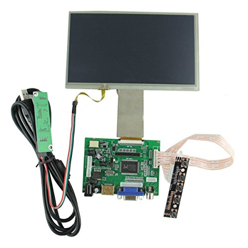 MARK8SHOP 1024 x 600 display digitale LCD Display touch 17,8 cm con driver Board kit per Raspberry Pi