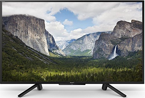 Sony 125.7 cm (50 inches) Bravia KLV-50W662F Full HD LED Smart TV (Black)