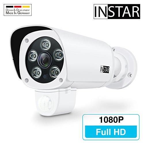 INSTAR IN-9008 Full HD Weiss - LAN u. WLAN IP Kamera
