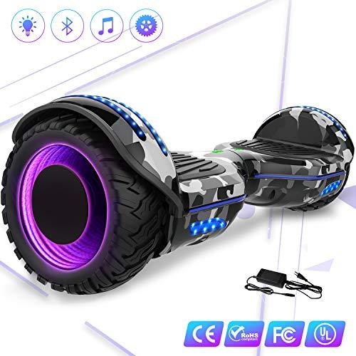 Mega Motion Self Balance Scooter Elettrico 6.5'' E-Star,Scooter Elettrico Auto bilanciamento, Ruote...