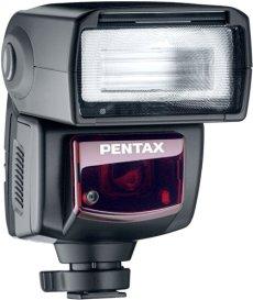 Pentax AF 360FGZ TTL Flash con funda