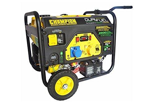 Generador Champion 6500W Gasolina 5500W Gas electrógeno de emergencia Generadores de corriente 230V EU