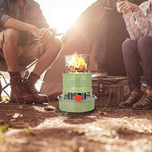 tulipit Fornace da campeggio antivento al cherosene Fornello per esterni per cucinare friggere...