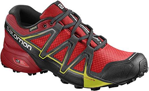 Salomon Speedcross Vario 2 GTX Calzado de Trail Running, Hombre, Rojo (Fiery Red/Barbados Cherry/Magnet), 44 2/3 EU