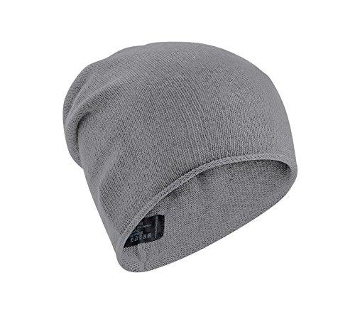 Slouch-Beanie-Mütze ☆ für Damen ☆ Uni-Farben mit Kaschmir / Cashmere von Zwillingsherz – Cashmere Dreams / Strickmütze als Kopfbedeckung – das perfekte Accessoire