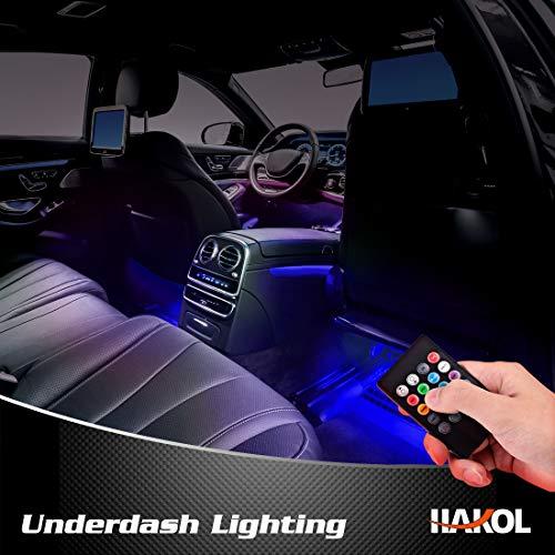 Le Più Recenti Luci LED da macchina | Kit Di Luci Con 7 Colori Per Veicoli | Strisce LED Che...