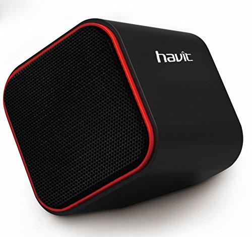 Havit HV-SK473 2.0 Channel USB Multimedia Speakers (Black/Red)
