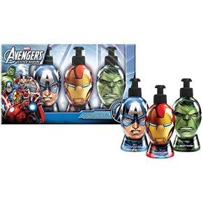 Marvel MC2611 - Estuche regalo de belleza, diseño Avengers, 3 piezas