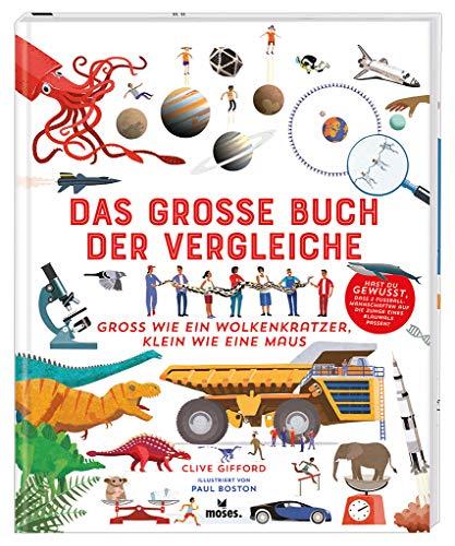 Das große Buch der Vergleiche   Spannendes Sachbuch für Kinder ab 8 Jahren