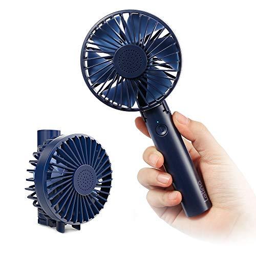 Leting Mini Ventilatore Portatile Ricaricabile con Carica USB, Ventilatore Silenzioso e Pieghevole a...
