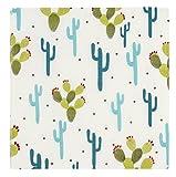 Blue Panda 150 Packs 13 x 13 Zoll Servietten Kaktus Design