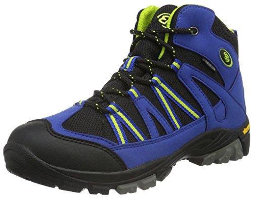 EB kids OHIO HIGH, Jungen Trekking- & Wanderstiefel, Blau (Blau/schwarz/lemon),...