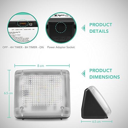 avantek simulateur de pr sence tv simule un t l viseur fake tv fausse t l vision dispositif. Black Bedroom Furniture Sets. Home Design Ideas