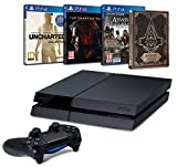Pack PS4 500 Go + Uncharted Collection + Assassin's Creed Syndicate + Steelbook + Metal Gear Solid V : The Phantom Pain