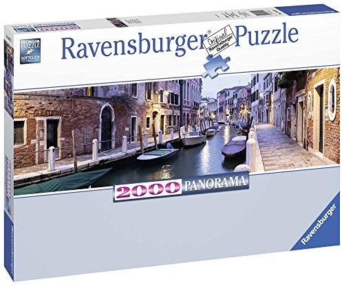Ravensburger Italy Puzzle Venezia di Sera Panorama, Multicolore, 2000 Pezzi 16612