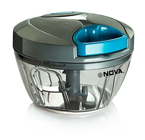 Nova Quick Cut Small Plastic Handy Chopper, Grey