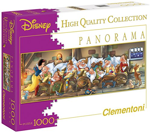 Clementoni Puzzle 39004 - Biancaneve -  1000 pezzi Disney Panorama Collection