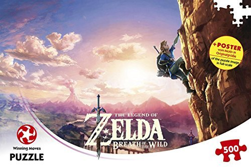Winning Moves GmbH WIN11231 The legend of Zelda Breath of the Wild puzzle Game