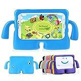 Muze - Funda protectora para Samsung Galaxy Tab 3P3200T230T211T210, goma, espuma EVA, a prueba de golpes, con asas, resistente, para niños, rosa, 7 pulgadas