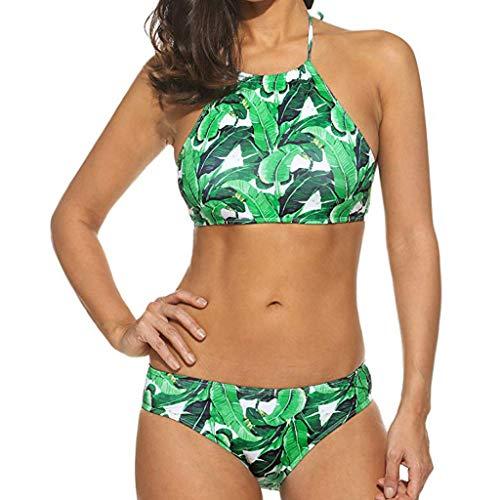 Poachers Traje de baño Mujer Estampado Moda Cintura Baja Dos Piezas Dividido Gran tamaño Sexy Push Up Verano El más Nuevo Conjunto de Bikini Playa Bañador Ropa de baño Beachwear Swimsuit Bohemio
