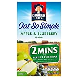 Quaker Oat So Simple Apple & Blueberry 10 x 36g