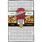 Wilton 2105-9716 Recipe Right, Griglia Antiaderente per Raffredamento, 40,6 x 25,4 CM, Acciaio, Nero