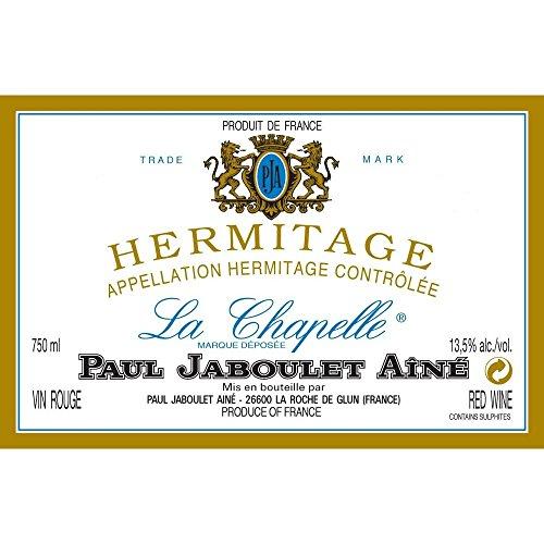PAUL JABOULET AINE La Chapelle 1986, Hermitage Rouge - (Etiquette abîmée)