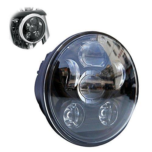 """Locisne 5-3 / 4 \""""5.75\"""" Runde LED Projektion Daymaker Scheinwerfer für Harley Davidson Kickfaire Motorrad Projektor Lichter 45W 9 LED Birne Scheinwerfer Aluminium Lampe"""