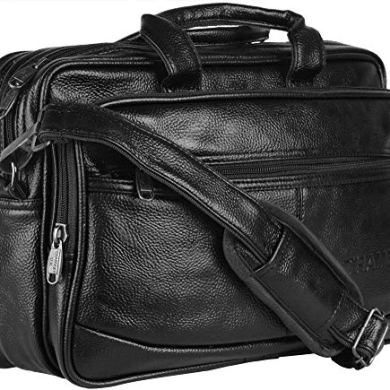 Thames Faux Leather 14 inches Laptop Messenger Bag/Sling Bag/Laptop Briefcase 21