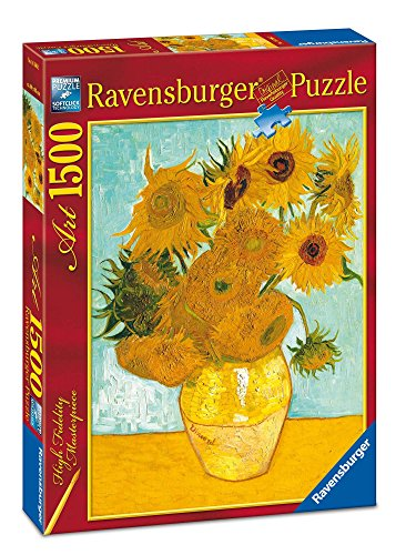 Ravensburger 16206 Van Gogh: Vaso con girasoli Puzzle 1500 pezzi