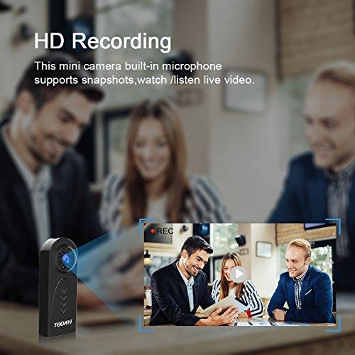 Caméra Espion Cachée AOBO Mini WiFi Cam HD 1080P Vision Nocturne avec Détection de Mouvement Caméra de Surveillance de Sécurité, Enregistreu... 6