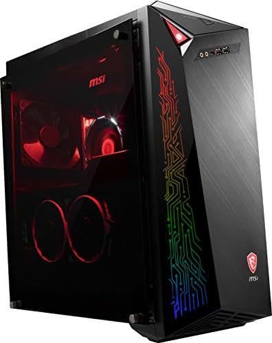 MSI Infinite A 8RC-245DE Gaming-PC (Intel Core i5+ 8400, GeForce GTX 1060 6GB, 128GB PCIe SSD + Intel Optane 16GB M.2 PCIe Systembeschleunigung + 1TB HDD, 8GB DDR4, Windows 10 Home) schwarz