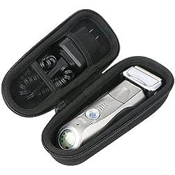 Khanka EVA Hart Reise Tragetasche Tasche Für Braun Series 7 799cc-7 740s-7 765cc-7 720s-6 7865cc 7898cc Wet und Dry elektrischer Rasierer