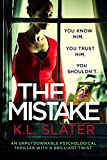 K.L. Slater (Author) (90)  Buy new: £1.99