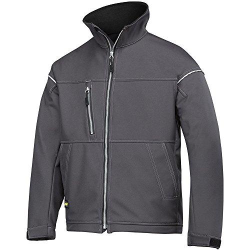 Snickers 12115800007taglia XL Soft Shell giacca-grigio