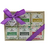Sistema hecho a mano del regalo de la barra del jabón del aceite esencial, ingredientes orgánicos...