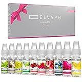 10 x 10ml Elvapo Premium Plus E-LIQUID-BOX