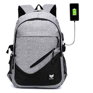 Fur Jaden Anti Theft Waterproof USB Charging 25 Ltrs Grey Casual Backpack 18  Fur Jaden Anti Theft Waterproof USB Charging 25 Ltrs Grey Casual Backpack 51DjVH9Tf L