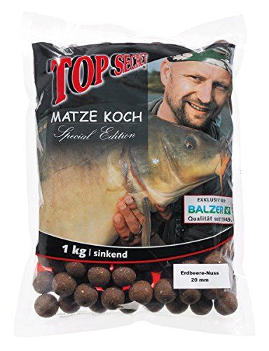 Balzer–Esche boiles, Matze Koch edizione speciale,gusto  fragola-noce / 20mm