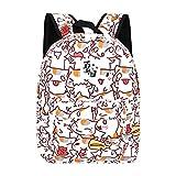 Historieta de la mochila de las mujeres del animado para la mochila del viaje de las muchachas de los muchachos Impresión linda del gato bolso de hombro para la adolescencia natsume yuujinchou