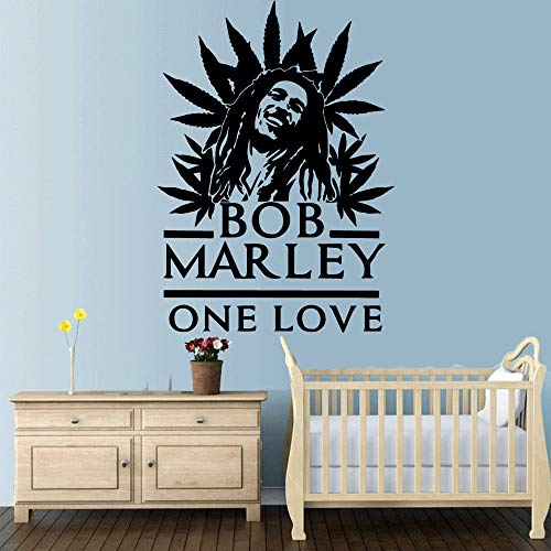 Carta da parati autoadesiva del vinile di Bob Marley di Diy per la decorazione della stanza dei...