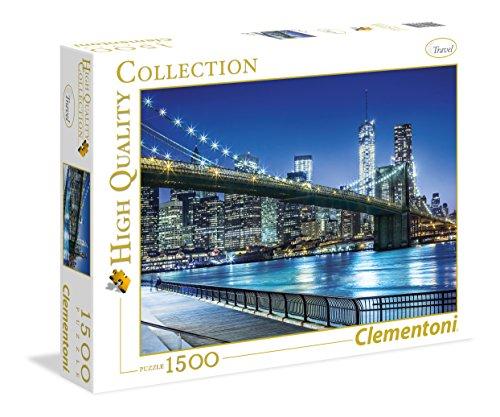 Clementoni - 31804 Collection - New York - 1500 Pezzi