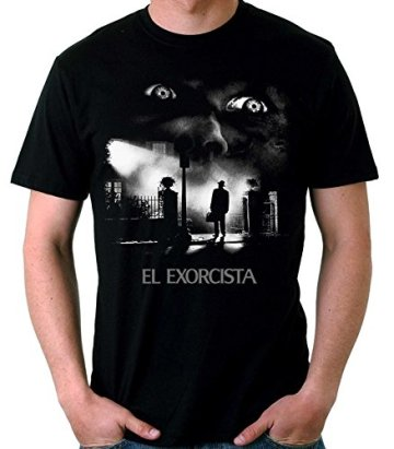 35mm - Camiseta Hombre El Exorcista-The Exorcist Terror Movie 3