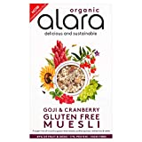 Alara Gluten Free Goji and Cranberry Muesli, 650g