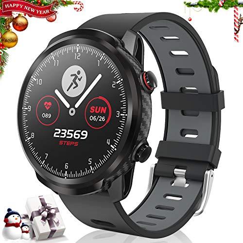 CatShin Smart Tracker attività Orologio, smartwatch Tracker Fitness Touch Screen, Orologio Sportivo Bluetooth Impermeabile IP67 con monitoraggio della frequenza cardiaca, Compatibile con Android iOS